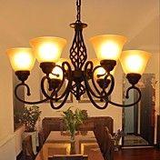 pastorale stil luksus moderne stue 6 lys – NOK kr. 1.664