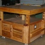 Torsion Box Assembly Table With Scissor Jack Lift Mechanism | The Wood Whisperer