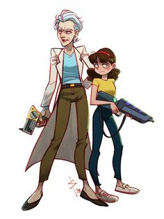 Rick and Morty. Beautiful Ladies))