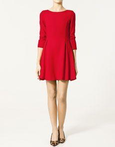 Vestito spacchi e pieghe di #Zara - €79,95