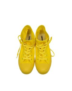 25d4d9eff9fd Converse | All Star Hi Canvas Aurora Yellow Monochrome Sneaker | Lyst  Converse All Star,