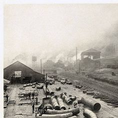 Steel Plant, Tennessee Coal, Iron & Railroad Co. (U. S. Steel Corporation), Ensley, Ala. :: Photographs