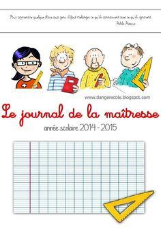 Le journal de la maîtresse version 2014 - 2015