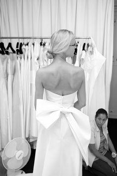 Gros noeud dans le dos... la robe de rêve