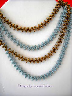 Peanut Bead Necklaces