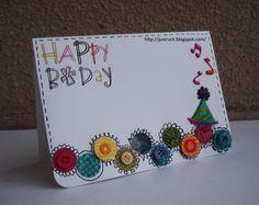 Campanha Presenteie Sentimentos ... - Happy Birthday Card - Cartão de Aniversário ~ Love to Keep