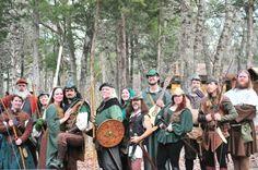Robin Hood and his merry folk