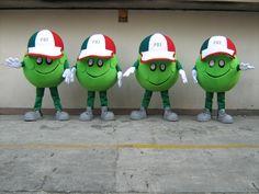 """Botargas Representativas """"Vota PRI"""" ¡Conoce más botargas de partidos políticos y figuras humanas aquí! http://www.grupoarco.com.mx/venta-de-botargas/botargas-de-figuras-humanas-en-mexico/"""