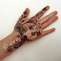 Henna designs that could be used for quilting or zentangling.