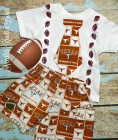 Texas Longhorns Bevo Outfit Costume Boys Girls Toddler 5T NWT