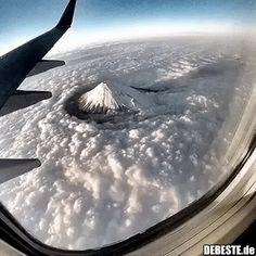 Wow!.. Mt. Fuji, Japan. | Lustige Bilder, Sprüche, Witze, echt lustig