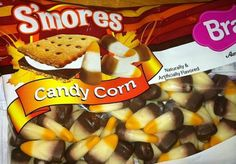 S'mores Candy Corn exists.  Hmmm, not sure about these.