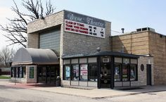 Dunes Theater, Zion, Illinois. I spent many Saturday afternoons watching the double feature matinees in this theater.