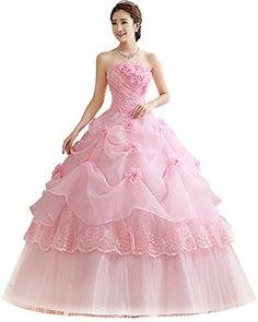 3e3d0a7abb Vestidos De Novia Pink Red Wedding Dress Cheap Wedding Grown sweet 16  dresses Flower Ball Gowns without Petticoat