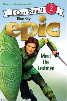 Epic: Meet the Leafmen by Lucy Rosen