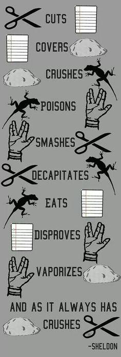 Rock Paper Scissors Lizard Spock :)