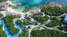 Grand Sirenis Riviera Maya - worlds largest natural aquarium. We need to vacation here!