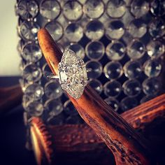 Our favorite re-mount, like, ever and the process on #FFR  #diamond #baguettes #trillion twins and all the pave your twisted little ❤️ desires @for_future_reference #bridal #ido #hellyesyoudo