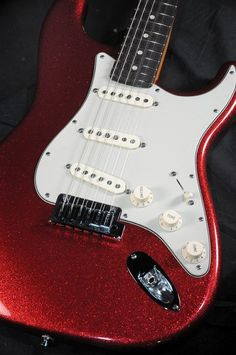 sparkly red electric guitar - Google Search