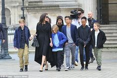 The troop:Jolie has six children with Brad Pitt, who she is in the process of divorcing. ...