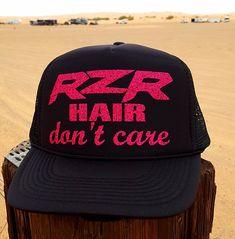 6bcc64c4af1 RZR Hair Don t Care Trucker Hat