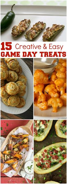15 Creative and Easy Game Day Treats