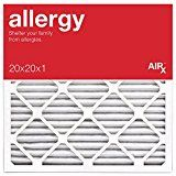 AiRx ALLERGY 20x20x1 Air Filters  Best for Allergy Protection  Box of 6  Pleated 20x20x1 MERV 11 Air Filters AC Filters Furnace Filter  Energy Efficient