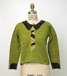 Schiaparelli 1930s Sweater