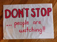 Best race signs for marathons, half marathons, 5k, 10k . Great signs make the race so much better. THANK YOU!!