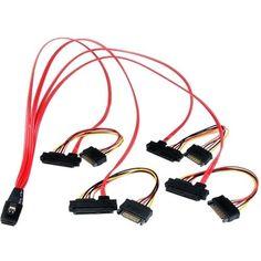 StarTech.com 50cm Internal Serial Attached Scsi Mini SAS Cable - SFF8, #SAS808782P50