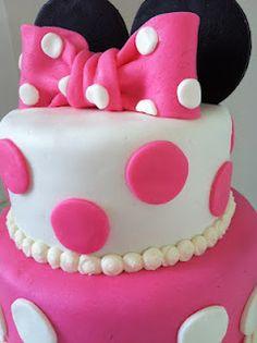 homemade minnie cake