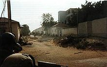 This is the only picture taken during the Battle of Mogadishu (more commonly referred to as Black Hawk Down or, for Somalis, the Day of the Rangers), it shows Rangers near the Target Building. Military Terms, Military Salute, Military Special Forces, Military Veterans, Military History, Mogadishu 1993, Battle Of Mogadishu, Us Army Rangers, Black Hawk Down