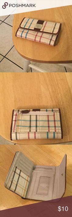Liz Claiborne wallet Nice wallet with zipper pocket on back Bags Wallets