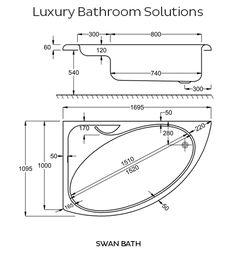Corner Bathtubs Dimensions | ... Carron 1700 Acrylic Corner Bath   Designer  Bathrooms U0026