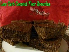 Low Carb Coconut Flour Brownies Ingredients: 1/2 cup minus 1tbs coconut flour 1/2 cup cocoa powder 1/2 cup plus 2tbs kerrygold butter melted 3 eggs 1 tsp vanilla extract 1/2 cup plus 2 tbs maple syrup or honey ( i used maple grove sugar free for less net carbs!) Directions: 1) pre-heat oven to 300 and grease a 8x8 or 9x9 pan and set aside. 2) mix all the above ingredients together and spread evenly into the pan. 3) cook for 30-35 minutes or until toothpick comes out of middle clean. 4) let…