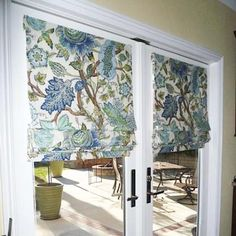 Instructions For Making Roman Shades   For Kitchen/patio Door
