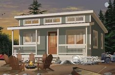 Family Home Plans offers the lowest prices on cabin house plans, featuring porches, decks, and screened rooms. Find your cabin house plans today!