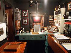 Edward Weston's Darkroom at his home on Wildcat Creek