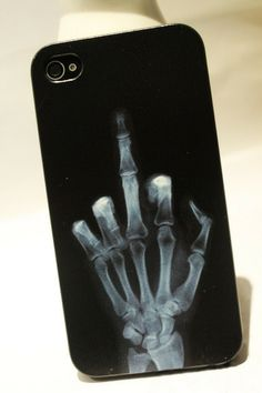Cool X-ray Skull Bone Hard Cover Case For Iphone 4/4s