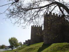 Foto tirada em Ávila, Espanha.