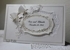 IC413, Rhonda's wedding by Holstein - Cards and Paper Crafts at Splitcoaststampers