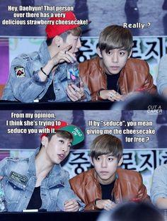 Daehyun :3 #Yongguk #B.A.P #funny