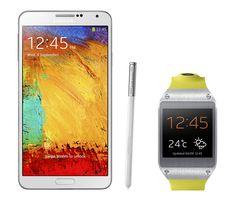 Samsung Galaxy Note 3 and Samsung gear
