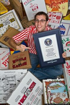 Guinness worlds largest pizza box collection Worlds Largest Pizza, Large Pizza, Pizza Boxes, Guinness World, World Records, Collection, Pictures