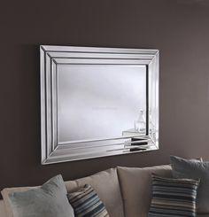 Pompeii Handmade Modern Bevelled Wall Mirror - Art Deco - Mirrors
