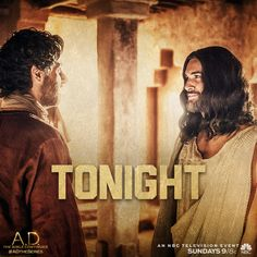 Get ready for an all new episode of A.D. The Bible Continues on NBC at 9/8c! Will you be watching?   A.D. The Series
