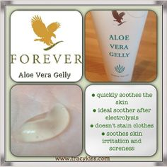 Forever Living Aloe Vera Gelly. Love using this product made from 100% inner leaf gel. Not just for cuts, rashes and sunburn but can be used for rubbing on sore gums