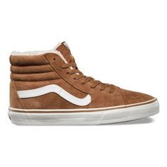 Vans The Sk8-Hi, Vans legendary lace-up high top inspired by the classic Old Skool, has a durable canvas and suede upper, a supportive and padded ankle, and Vans vulcanized signature Waffle Outsole.