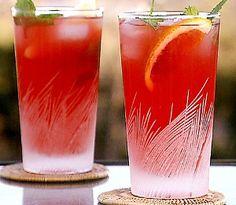 morning mojito cocktail