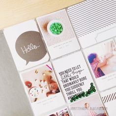 Video Tutorial on Printing 3x4 photo cards for Project Life® from Collect Photo App and Persnickety Prints